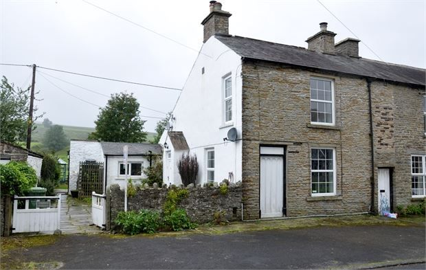 Thumbnail End terrace house for sale in The Green, Garrigill, Alston, Cumbria.