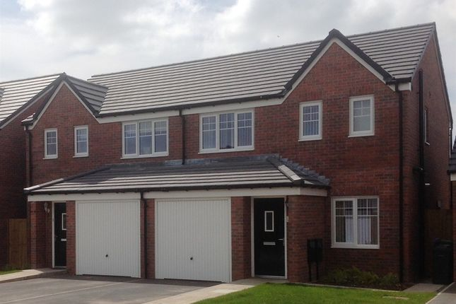 "Thumbnail Semi-detached house for sale in ""Rufford"" at Windsor Way, Carlisle"