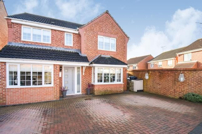 Thumbnail Detached house for sale in Pochins Bridge Road, Wigston, Leicester, Leicestershire