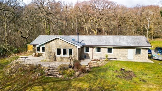 Thumbnail Detached bungalow for sale in North Lodge, Ovingham