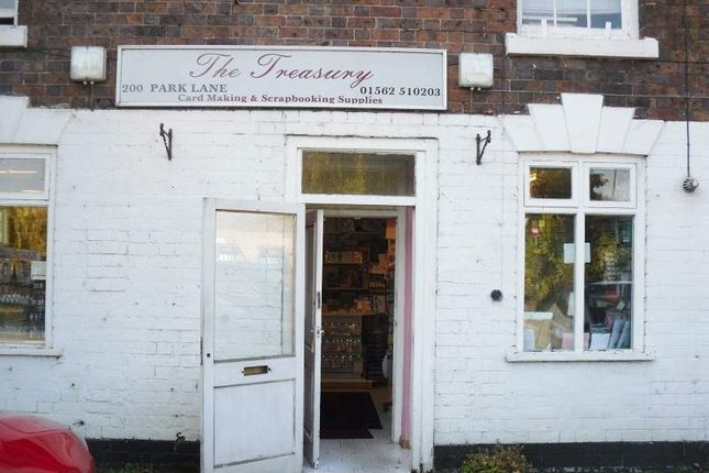 Thumbnail Retail premises for sale in 200 Park Lane, Kidderminster