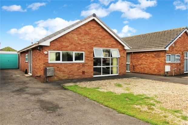 Thumbnail Detached bungalow for sale in Cranford Close, Worle, Weston-Super-Mare, North Somerset.