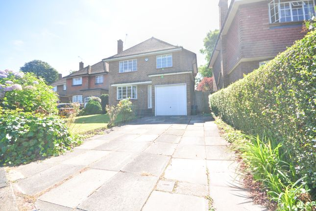 Thumbnail Detached house to rent in Raisins Hill, Pinner, Middlesex