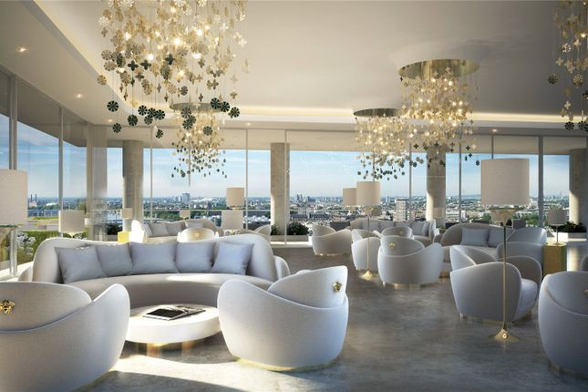 Thumbnail Flat for sale in The Tower, Nine Elms, London