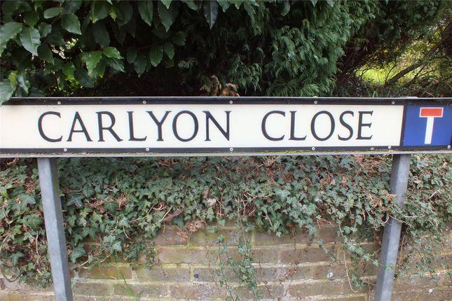 Thumbnail Detached house for sale in Carlyon Close, Farnborough, Hampshire