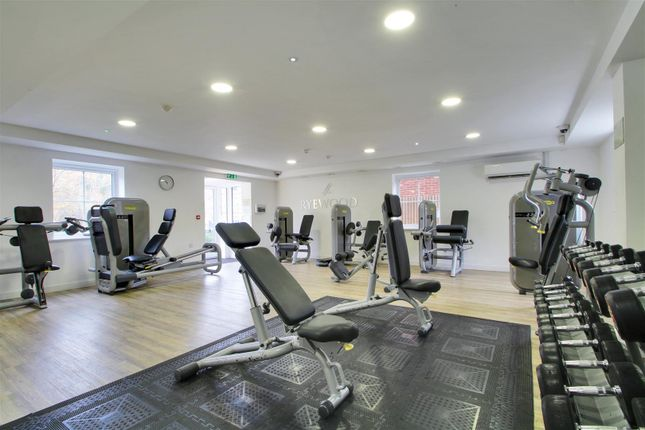 Communal Gym of Clover Court, Eden Road, Dunton Green, Sevenoaks TN14