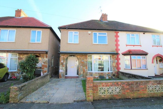 Thumbnail Semi-detached house to rent in Black Rod Close, Hayes