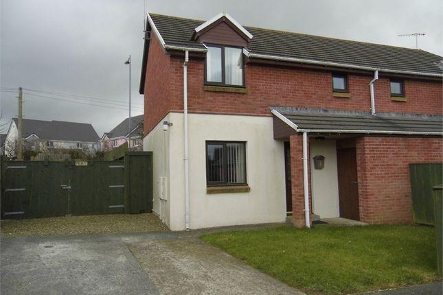Thumbnail Semi-detached house to rent in 11 Bro Stinian, Fishguard, Pembrokeshire