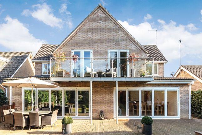 Thumbnail Detached house for sale in Heath Road, Helpston, Helpston, Cambridgeshire