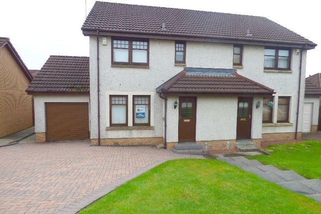 Thumbnail Semi-detached house to rent in Glen Sannox Way, Cumbernauld, North Lanarkshire