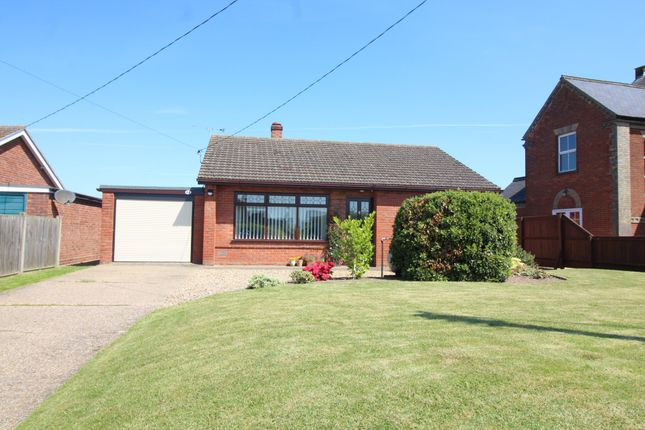 Thumbnail Detached bungalow for sale in Chapelfield, Freethorpe, Norwich