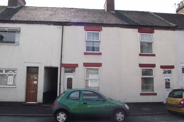Thumbnail Terraced house to rent in Wyggeston Street, Near The Hospital, Burton On Trent