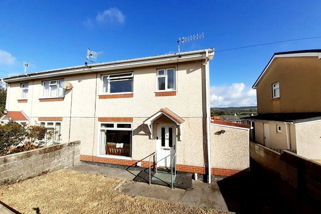 Thumbnail Semi-detached house for sale in Llwynderi, Aberdare, Rhondda Cynon Taff