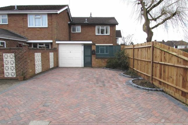 Thumbnail Semi-detached house to rent in Radburn Court, Dunstable