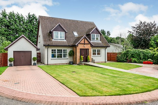 Thumbnail Detached house for sale in Breac An Ord, Maryburgh, Dingwall, Ross-Shire