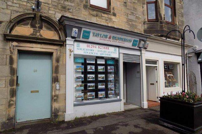 Thumbnail Retail premises for sale in Craufurd Court, Crosbie Towers, West Kilbride