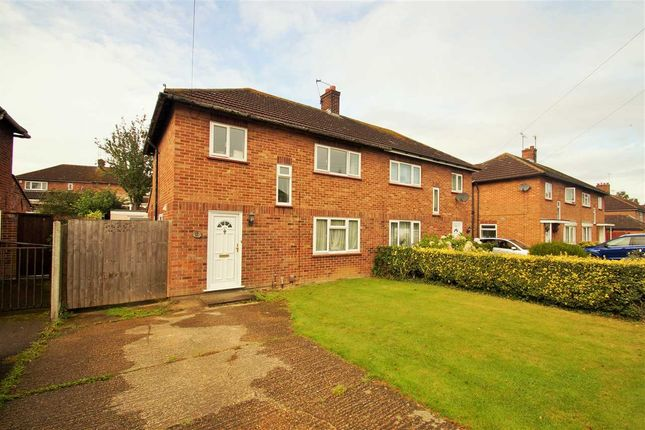 Thumbnail Semi-detached house for sale in Rudsdale Way, Prettygate, Colchester