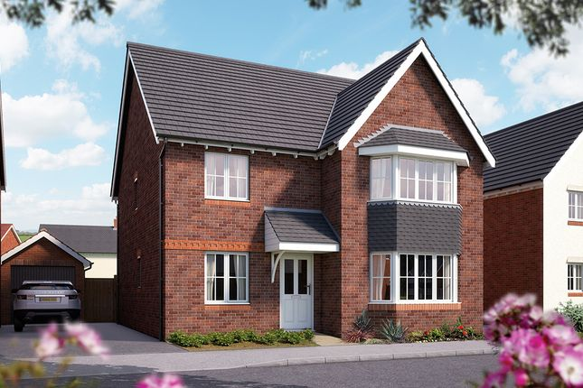 "Thumbnail Detached house for sale in ""The Oxford"" at Weights Lane Business Park, Weights Lane, Redditch"