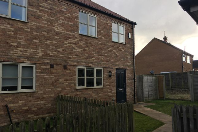 3 bed end terrace house to rent in Cuttings Court, Walpole St. Andrew, Wisbech PE14