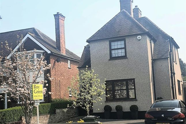 Thumbnail Detached house for sale in Station Road, Glenfield, Leicester