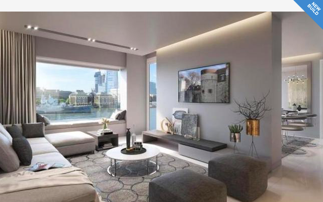 Thumbnail Flat for sale in Landmark Place, Lower Thames Street, London