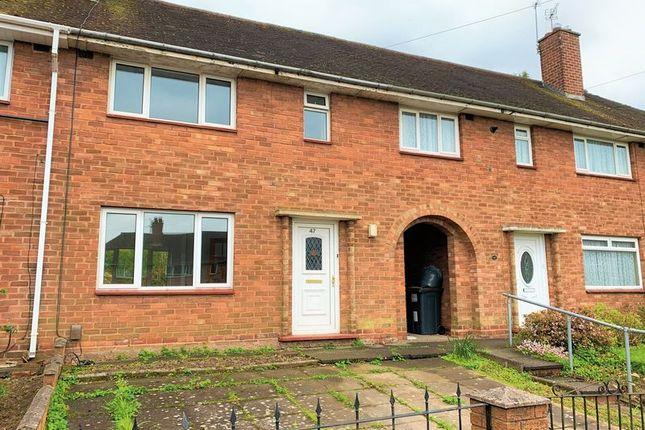 Thumbnail Terraced house to rent in Belton Grove, Rednal, Birmingham