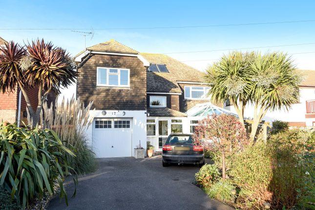 Thumbnail Detached house for sale in Sea Drive, Felpham, Bognor Regis