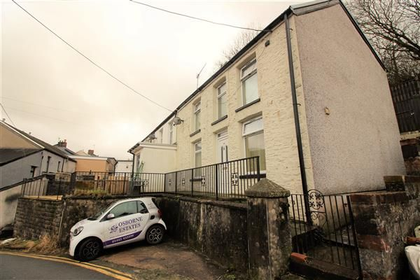 Thumbnail End terrace house for sale in Penygraig Road, Penygraig, Tonypandy