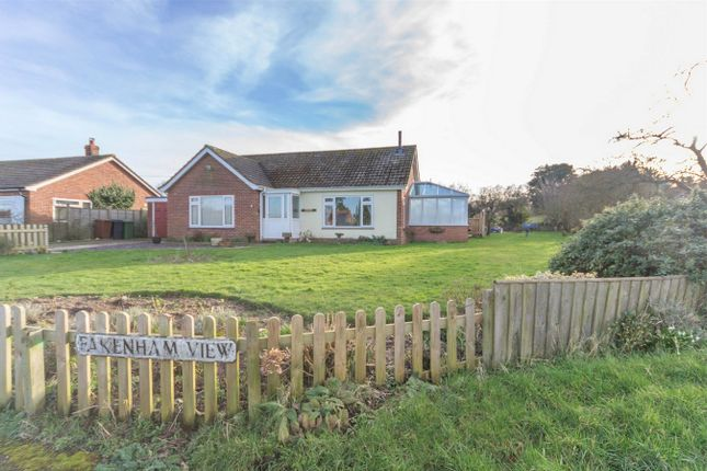Thumbnail Detached bungalow for sale in Fakenham View, Colkirk, Fakenham
