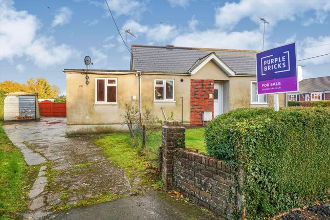 Thumbnail Detached bungalow for sale in Astor Crescent, Ludgershall, Andover