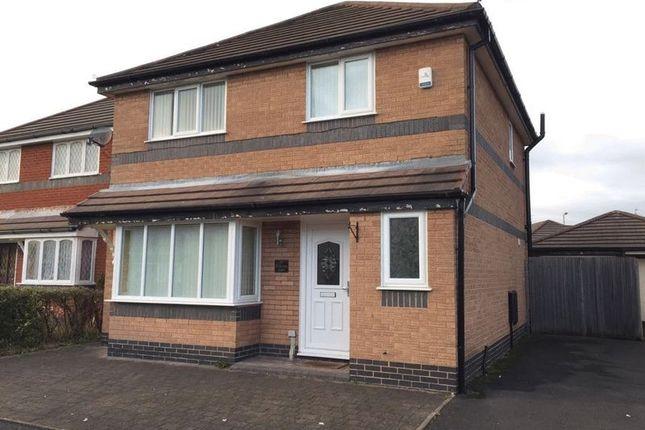 3 bed detached house to rent in Betjeman Grove, Liverpool