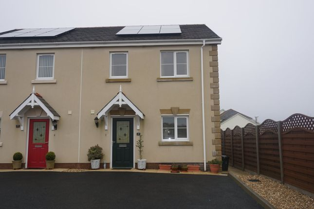 Semi-detached house for sale in Tirydderwen, Cross Hands, Llanelli