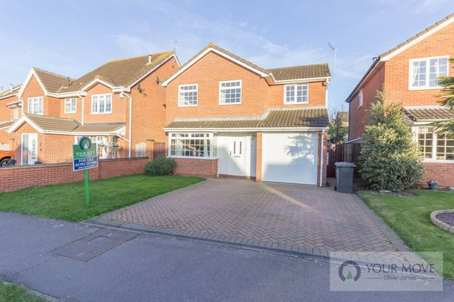 Thumbnail Detached house for sale in Wharfedale, Carlton Colville, Lowestoft