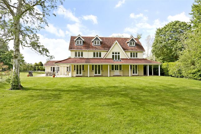 Thumbnail Detached house for sale in Riverwoods Drive, Marlow, Buckinghamshire
