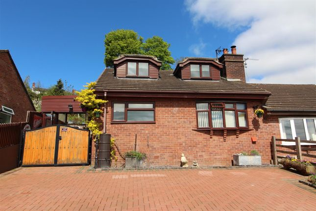 Thumbnail Semi-detached house for sale in Hillside, Pant, Oswestry