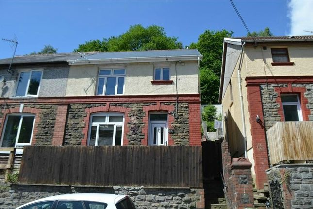 Thumbnail Semi-detached house for sale in Gwyddon Road, Abercarn, Newport