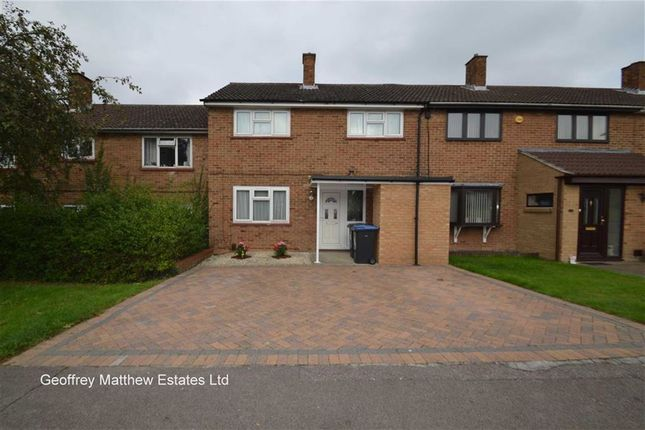 Thumbnail Terraced house for sale in Nichols Field, Harlow, Essex
