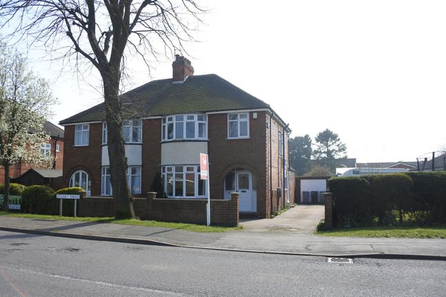 Thumbnail Semi-detached house for sale in Dysart Road, Grantham
