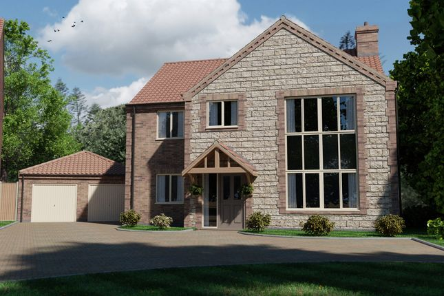 Thumbnail Detached house for sale in Plot 8, Saint Germaine Way, Scothern, Lincoln