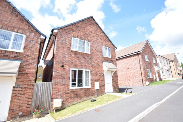 Thumbnail Detached house for sale in Y Ffordd Wen, Aberbargoed, Bargoed