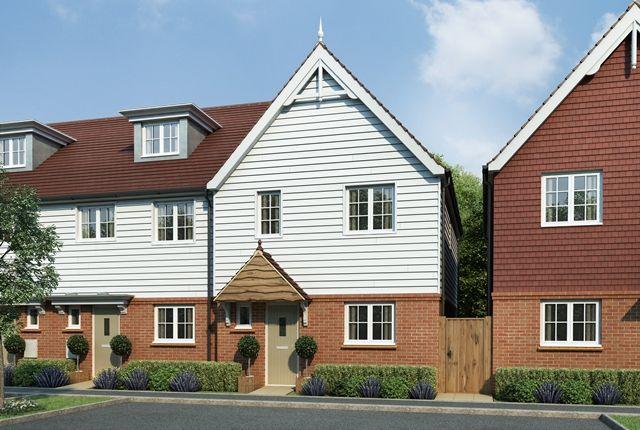 Thumbnail Terraced house for sale in Tudeley Lane, Tonbridge