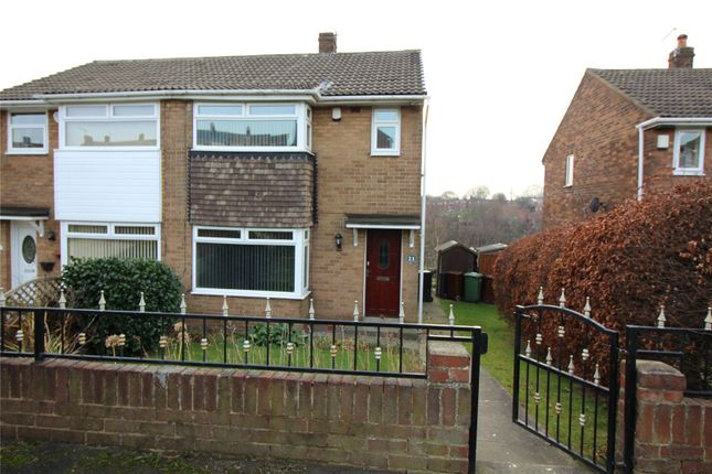 Thumbnail Semi-detached house to rent in Spring Valley Drive, Leeds, West Yorkshire