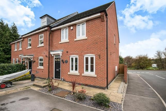 Thumbnail End terrace house for sale in Church View Drive, Old Tupton, Chesterfield, Derbyshire