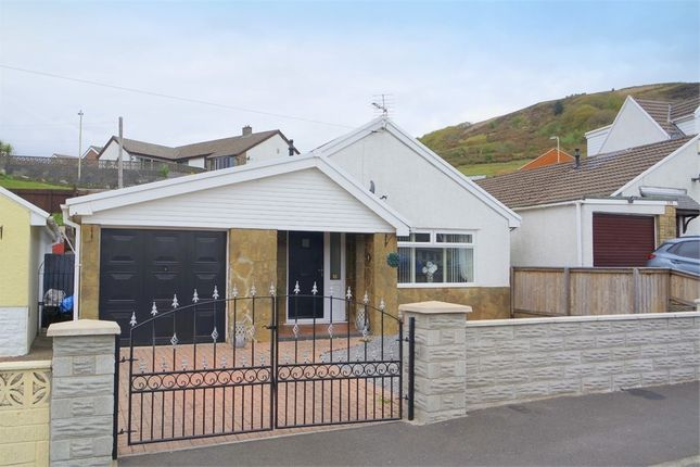 Thumbnail Detached bungalow for sale in Mill View Estate, Garth, Maesteg, Mid Glamorgan