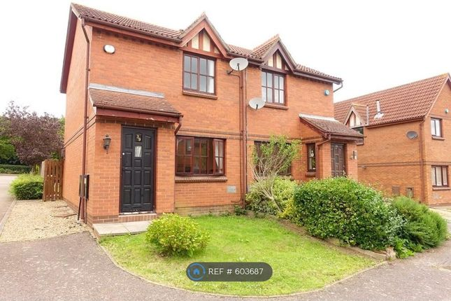 Thumbnail Semi-detached house to rent in Aintree Close, Bletchley, Milton Keynes