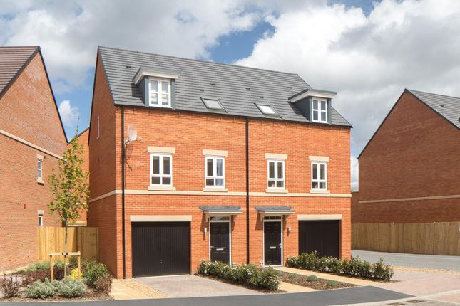 "Thumbnail End terrace house for sale in ""Hinton"" at Racecourse Road, Newbury"