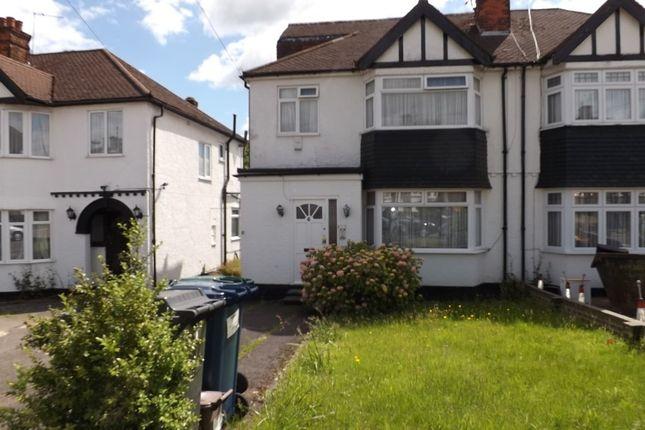 Thumbnail Semi-detached house for sale in Windsor Avenue, Edgware