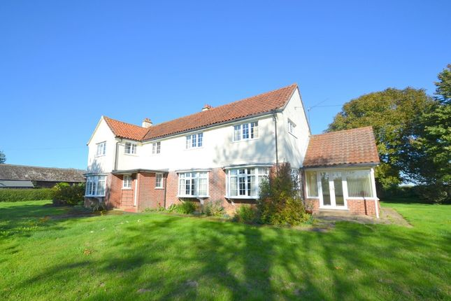 Thumbnail Detached house to rent in Boxford Road, Milden, Ipswich