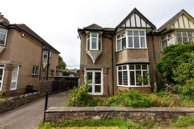 Thumbnail Semi-detached house for sale in Kewstoke Road, Stoke Bishop, Bristol