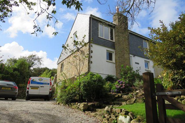 Thumbnail Semi-detached house for sale in Nancledra, Cornwall.